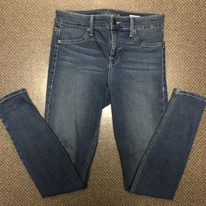 Level 99 mid rise Janice ultra skinny jeans